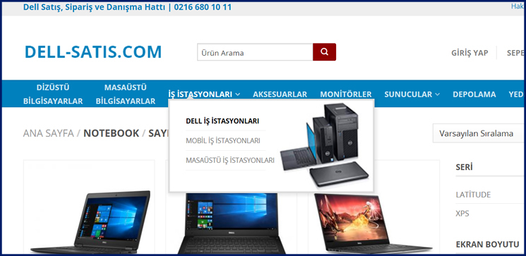 dell-satis.com Yenilendi
