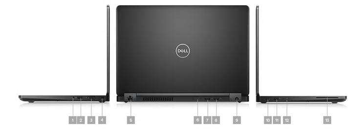 Dell Latitude 5490 Portlar