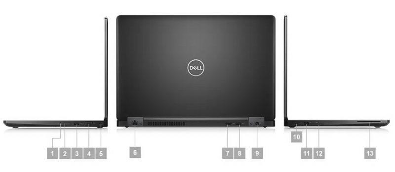 Dell Precision M3530 Portlar