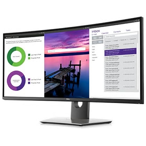 Dell U3419W Kavisli Monitör