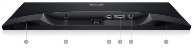 Dell S2719H Portlar