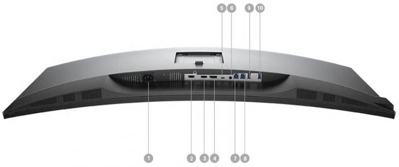 Dell U3818DW Portlar