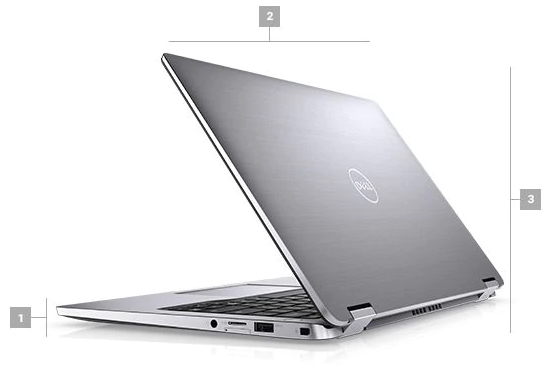 Dell Latitude 7400 2in1 Boyutlar