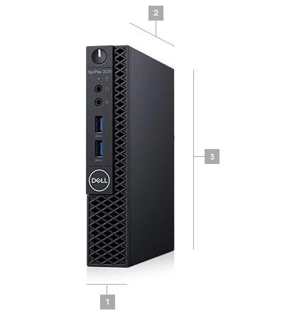 Dell Optiplex 3070 MFF Boyutlar