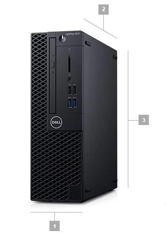 Dell Optiplex 3070 SFF Boyutlar