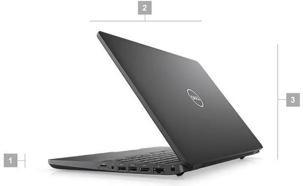 Dell Precision 3540 Boyutlar