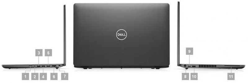 Dell Precision 3540 Portlar
