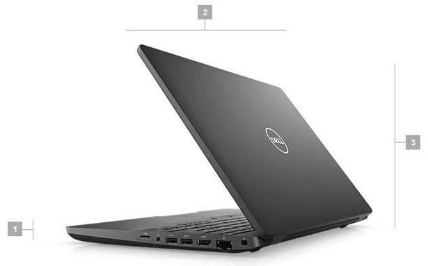 Dell Precision 3541 Boyutlar
