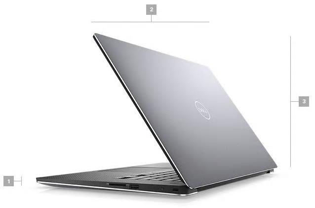 Dell Precision 5540 Boyutlar