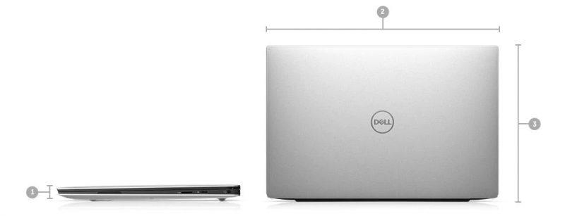 Dell XPS 13 7390 Boyutlar