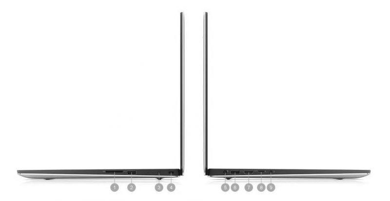 Dell XPS 15 7590 Portlar
