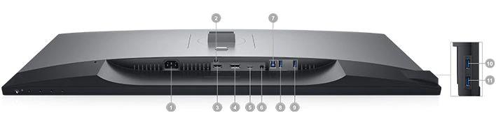 Dell U3219Q Portlar