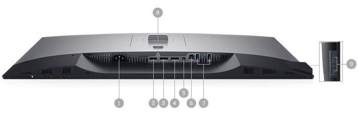Dell U2719D Portlar